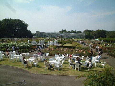 神代植物公園遠景